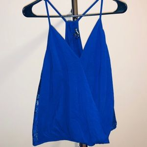 ***EXPRESS*** Wrap Front Lace Tank Top